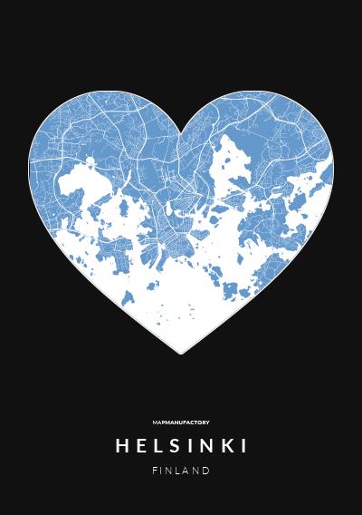 HELSINKI - FINLAND poszter