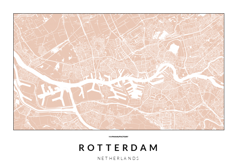 ROTTERDAM - NETHERLANDS poszter