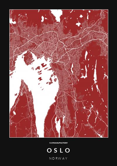 OSLO - NORWAY poszter