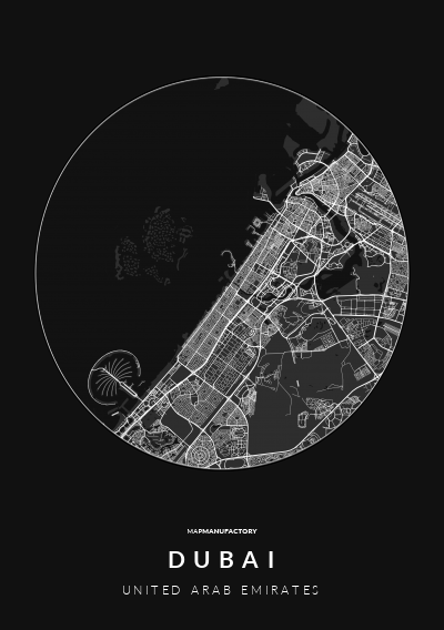 DUBAI - UNITED ARAB EMIRATES poszter