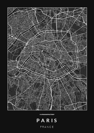 PARIS - FRANCE poszter