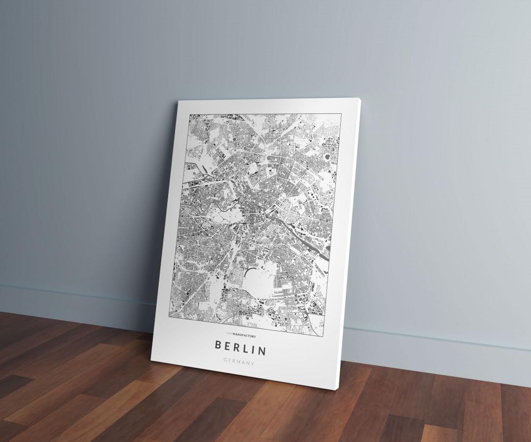 Berlin épületei vászonképen - világos